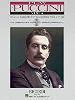 Puccini Instrumental Solos (Play Puccini)