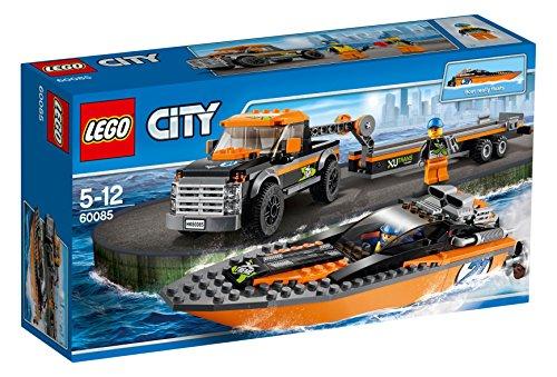 レゴ (LEGO) シティ パワーボートと4WDキャリアー 60085
