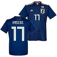 adidas サッカー日本代表 2018 ホーム レプリカ ユニフォーム 半袖 No.17 長谷部 CV5638/17H