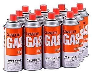 イワタニ カセットガス オレンジ 12本組 CB-250-OR-12BOX