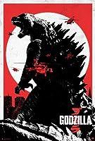 シルクにゴジラのHDを印刷2014 DS映画のポスターを24×36平行輸入