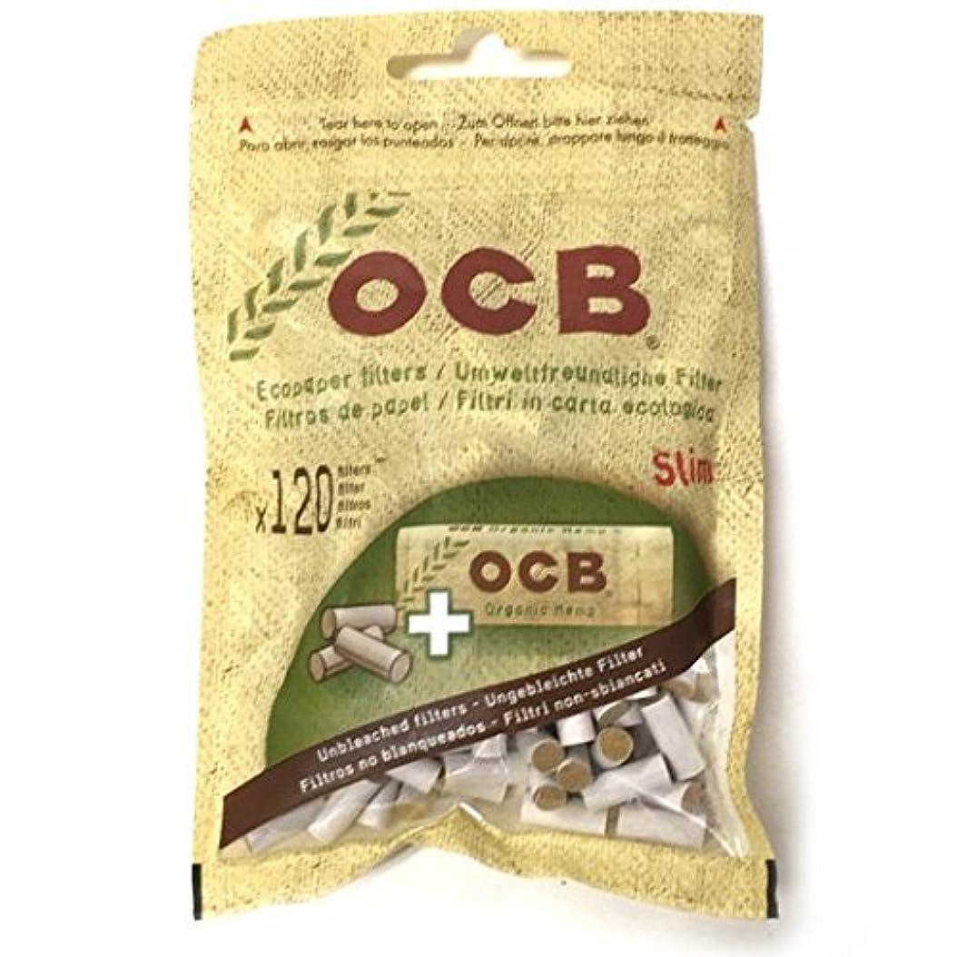 ジュラシックパーク最大摘む柘製作所(tsuge) OCB?ナチュラルバリューパック スリムフィルター120個 ペーパー1ブックレット 入り #78536 ×2パック 手巻きタバコ