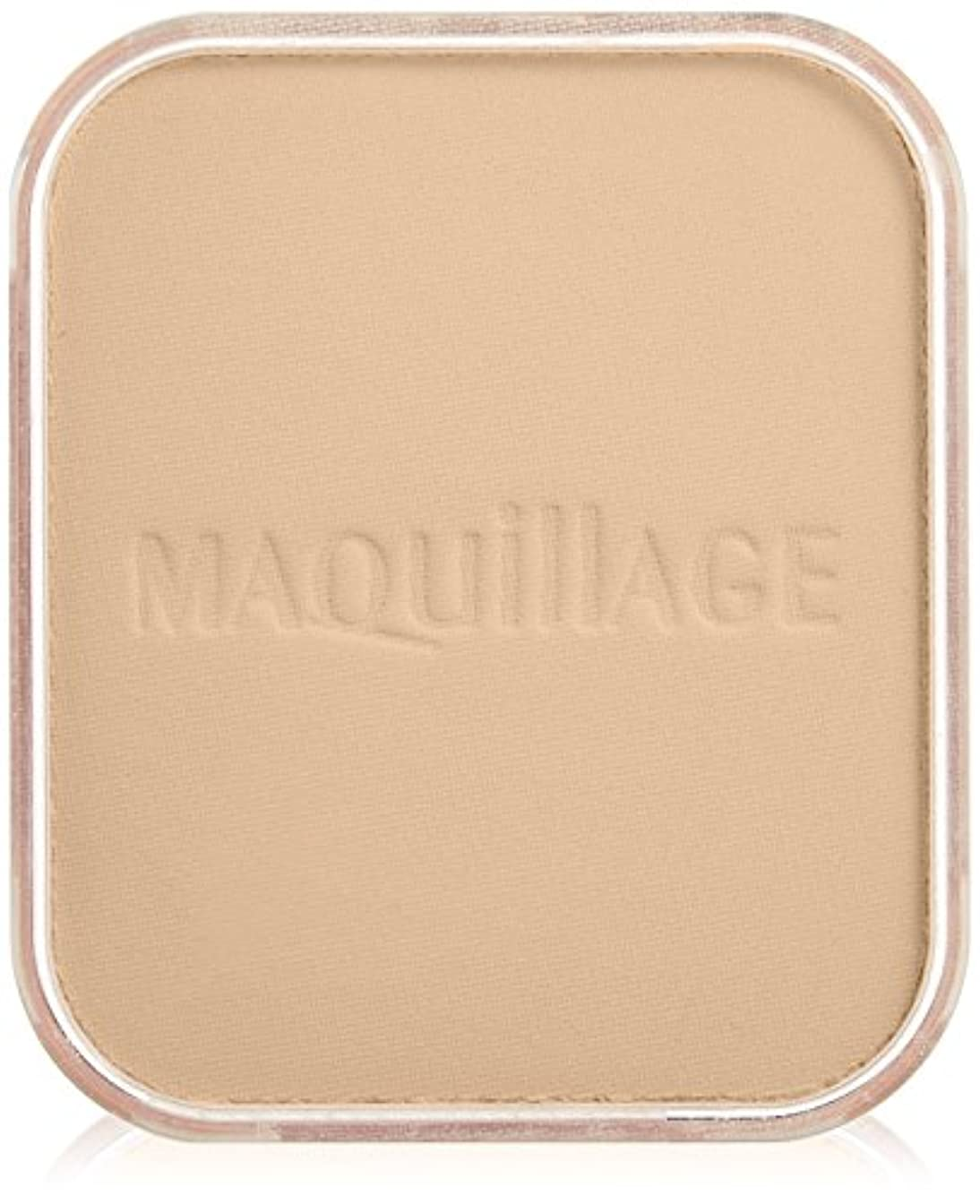 石膏酸素寸法マキアージュ ライティング ホワイトパウダリー UV オークル10 (レフィル) (SPF25?PA++) 10g