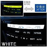アルファード 10系 ANH/MNH1# エアコンパネル エアコンランプ LED ランプ パネル球 交換 ルームランプ 内装 イルミネーション 白 ホワイト