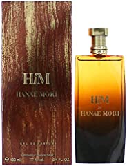 Hanae Mori Him Eau de Parfum Spray, 100ml