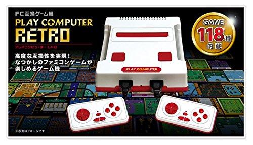 プレイコンピューター レトロ FC互換ゲーム機 内蔵ゲーム118種