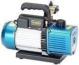 イチネンTASCO TA150XA 高性能ツーステージ真空ポンプ(オイル逆流防止弁付)