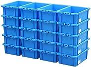Astage(アステージ) 収納ボックス NVボックス #13 ブルー 奥行43.5×高さ14.5×幅28.7cm 20個セット