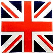 世界の国旗 コースター イギリス国旗 ユニオンジャック メガネ拭き
