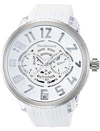 [TENDENCE]テンデンス 腕時計 フラッシュ ホワイト文字盤 TY561002 【正規輸入品】