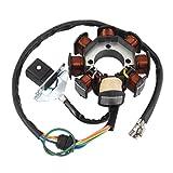ホンダ CG 125cc クラス 150ccのための磁気固定子ジェネレータスクーター5ワイヤ8コイル