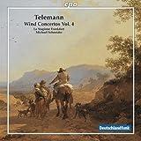 テレマン:管楽器のための協奏曲集 第4集