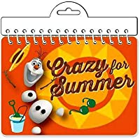 Disney Frozen Crazy For Summer Autograph Book [並行輸入品]