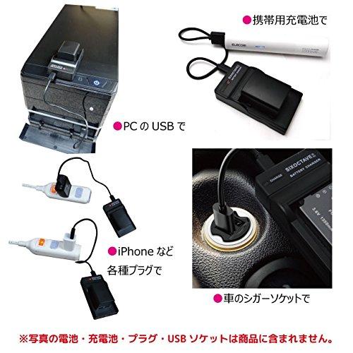str ソニー NP-FW50 互換USB充電器 BC-TRW BC-VW1 NEX-C3/NEX-5/α55/α33/NEX-5N/NEX-7/NEX-F3/NEX-5R/NEX-6/α37/NEX-5T/NEX-5TL/NEX-5TY/DSC-RX10/DSC-RX10M2/α7S II /α7R II /α7 II /α5100/ DSC-RX10M3 カメラ バッテリーチャージャー