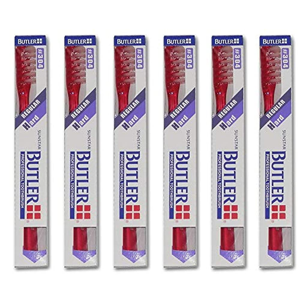 特徴づける渇き森バトラー 歯ブラシ 6本 #304