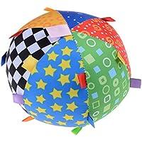 JunkeソフトRattleボール、ベビーColoredベルボール、pre-kindergarten Toys