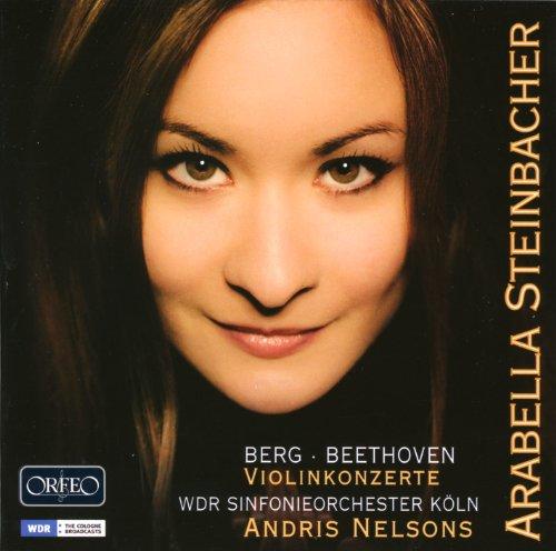 ベートーヴェン:ヴァイオリン協奏曲/ベルク:ヴァイオリン協奏曲 (Berg | Beethoven : Violinkonzerte / Arabella Steinbacher, Andris Nelsons) [輸入盤・日本語解説書付]