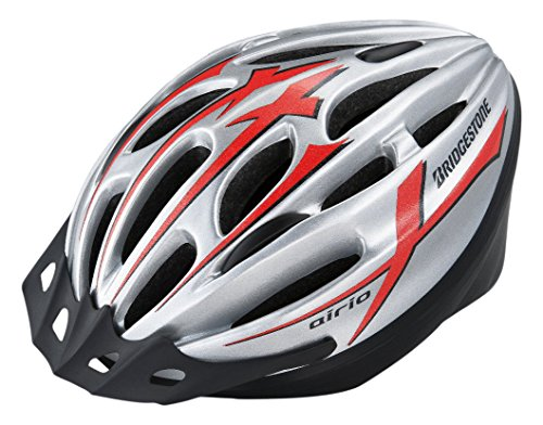 BRIDGESTONE Bridgestone Aerio helmet silver ha5660 B371301S L (head circumference 56 cm ~ 60 cm)