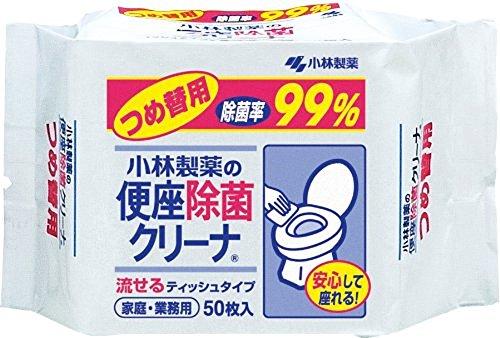 便座除菌クリーナ つめ替用 袋50枚