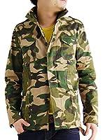 (アーケード) ARCADE 9color メンズ ストレッチツイルミリタリージャケット M-65 シャツジャケット