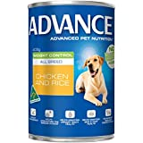 Advance Adult Weight Control 405g Dog Wet Food, pack of 12