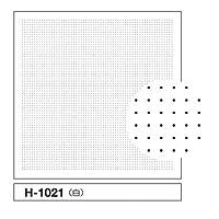 オリムパス製刺繍キット 花ふきんH-1021 一目刺し用ガイド付き さらしもめん