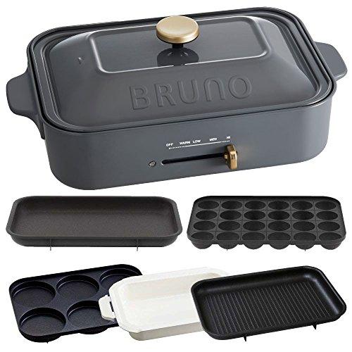 BRUNO コンパクトホットプレート + セラミックコート鍋...