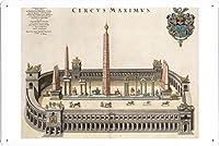 チルコ・マッシモ13027のティンサイン 金属看板 ポスター / Tin Sign Metal Poster of Circus Maximus 13027