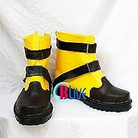 ●●サイズ選択可●●I0184ZCI コスプレ靴 ブーツ ファイナルファンタジーFF シューイン Shuyin 女性23CM