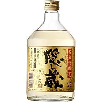 濱田酒造 隠し蔵 麦 25度 720ml