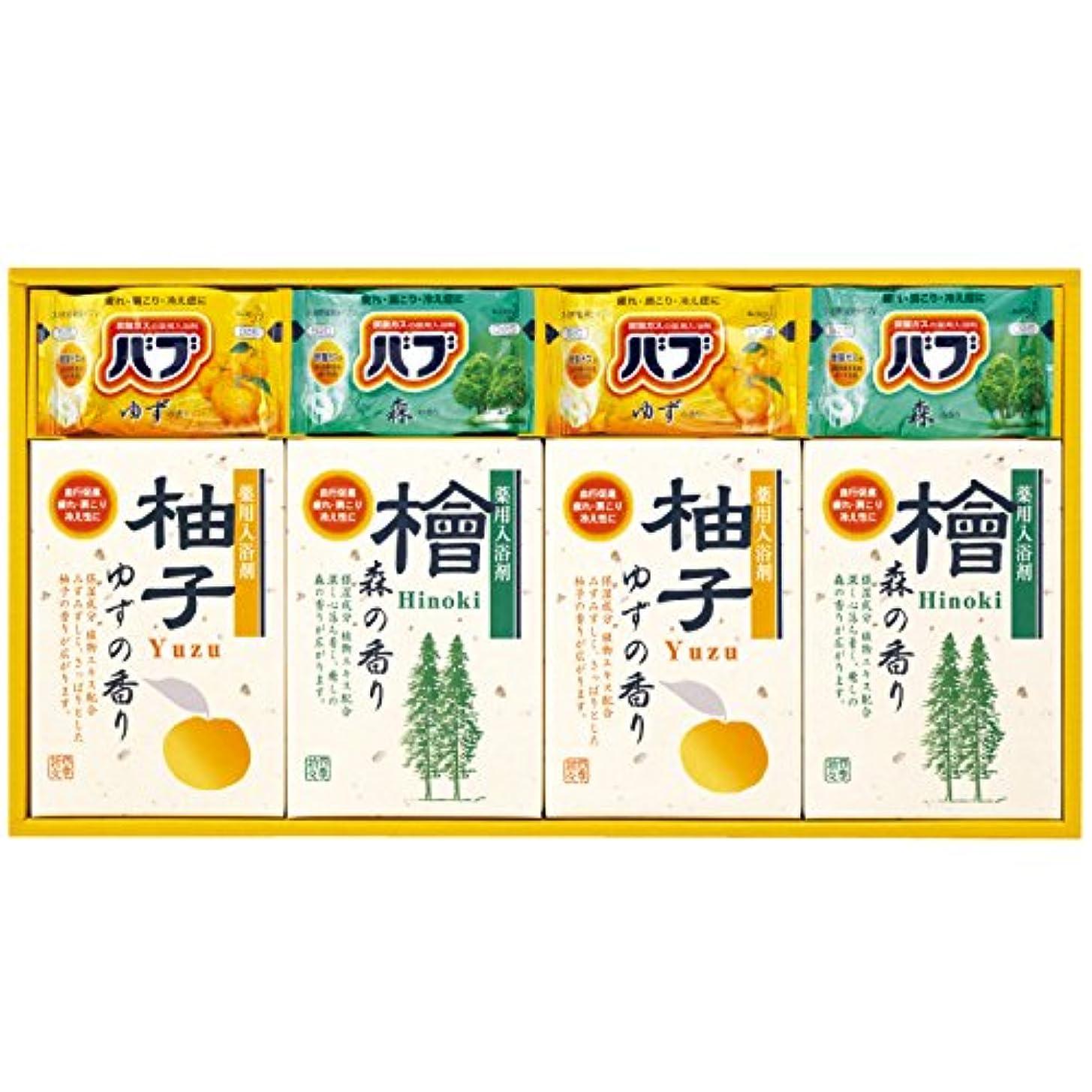 アレンジ提唱する持続する四季折々 薬用入浴剤セット SB-20 7163-032