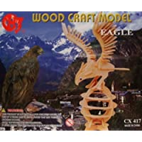 Wood Craft Model (Eagle) by CHJ [並行輸入品]