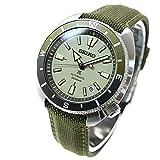 [セイコーウォッチ] 自動巻き腕時計 プロスペックス FIELDMASTER メカニカル SBDY099 メンズ オリーブ
