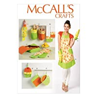 "McCall Pattern Company M6978 Apron and Kitchen Accessories, One Size Only ""All Sizes in One Envelope"" by McCall Pattern Company [並行輸入品]"