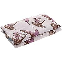 Lovoski 赤ちゃん モスリン コットン 二層 ブランケット 毛布 バスタオル おくるみ 可愛い 全7パタン