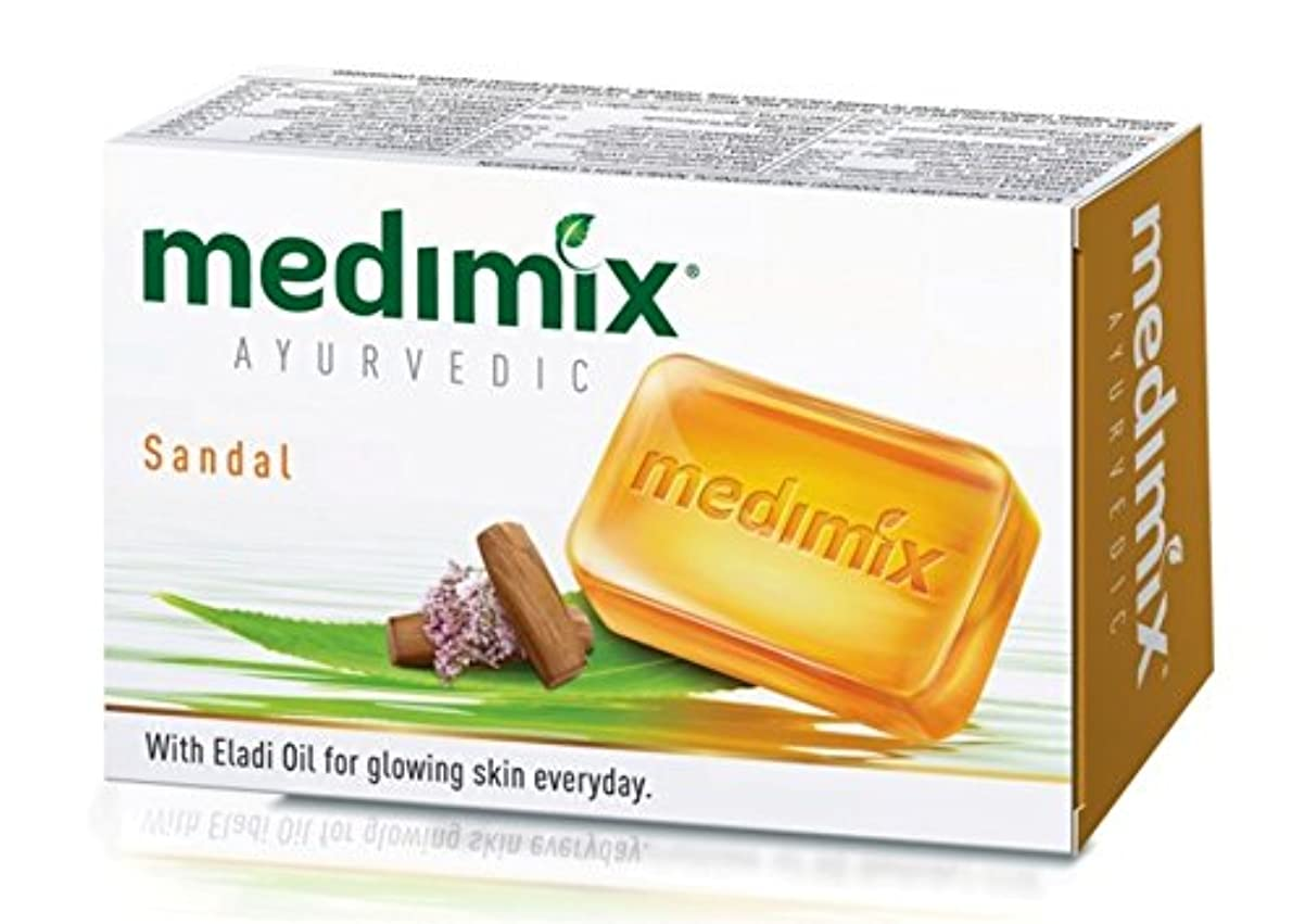 好奇心盛蒸発する取り付け【medimix国内正規品】メディミックス Sandal ハーブから作られたオーガニック石鹸