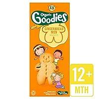 Organixは、135グラムの有機ジンジャーブレッド男性グッズ - Organix Goodies Organic Gingerbread Men 135g [並行輸入品]