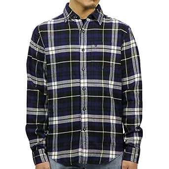 [アメリカンイーグル] AMERICAN EAGLE 正規品 メンズ ネルシャツ FLANNEL SHIRT 0513-8691 S 並行輸入 (コード:4060050406-2)