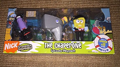 스펀지 밥 플레이 팩 2005 Nickelodeon Rare SpongeBob SquarePants Episode Playpack #12 The Chaperone [병행수입품]-q1