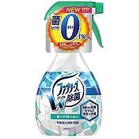 P&G ファブリーズ ダブル除菌 新型ノズル 370ml ニオイの原因菌までダブル除菌する消臭剤 約360回スプレーできます 香りが残らないタイプ×12点セット (4902430363921)