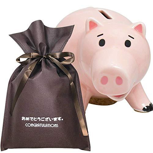 【おめでとうございますギフト】 貯金箱 ハム【L】