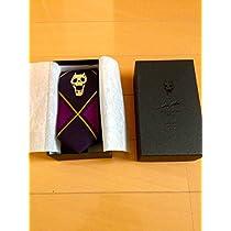KILL A Jacquard tie Purple ジョジョの奇妙な冒険 吉良吉影 ジャガード ネクタイ