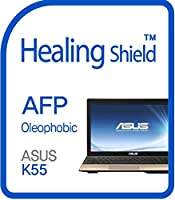 Healingshield スキンシール液晶保護フィルム Oleophobic AFP Clear Film for Asus Laptop K55