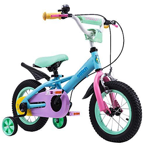 STITCH 子供自転車 3、4、5歳 補助輪付き 女の子 男の子 小学生 幼児用自転車 誕生日プレゼント 14インチ