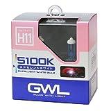ミラリード(MIRAREED) ハロゲンバルブ GWL エクセレントホワイトバルブ H11 5100K 【車検対応】 HIDクラスの輝きと白さ S1418
