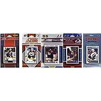 NHL Colorado Avalanche 5異なるLicensed Tradingカードチームセット、ブラウン、1サイズ