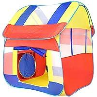 子再生テント、Yuiopインドアとアウトドア再生テント、子Playhouse、完璧折りたたみ式Pop Up Childrens Play Tent/Houseおもちゃfor Boys and Girls