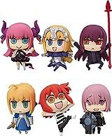 「マンガで分かる! Fate/Grand Order」トレーディングフィギュア8月発売。全6種がラインナップ