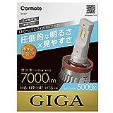 カーメイト GIGA 車用 LEDヘッドライト S7シリーズ 5000K 【 車検対応 / 3年間保証 】 自然な白色光 H8 H9 H11 H16 BW557