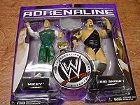 WWE Jakks Pacific Wrestling Adrenaline Series 21 Action Figure 2-Pack Mikey (Spirit Squad) Vs. The Big Show